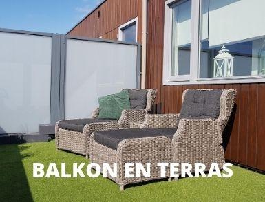 Kunstgras voor balkon en terras